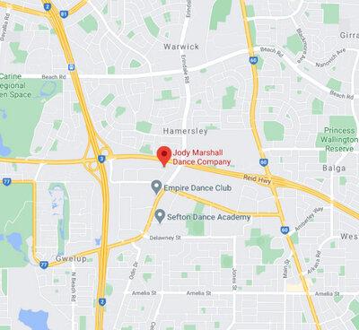 MAP Jody Marshall Dance Company
